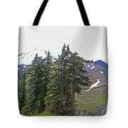 Mount Baker Area Wilderness Tote Bag