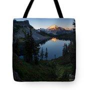 Mount Baker Chain Lakes Awakening Tote Bag