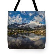 Mount Baker Cloudscape Tote Bag