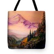 Mount Baker Morning Tote Bag