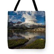 Mount Baker Skies Reflection Tote Bag