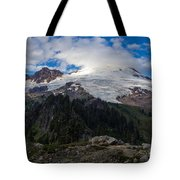 Mount Baker View Tote Bag