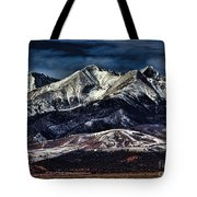 Mount Blanca Tote Bag