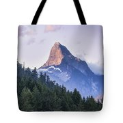 Mount Denman In Desolation Sound Marine Tote Bag