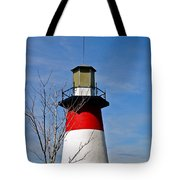 Mount Dora Lighthouse Close Up Tote Bag
