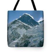 Mount Everest Morning Tote Bag