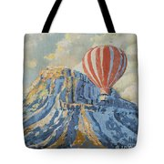 Mount Garfield  Tote Bag