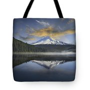 Mount Hood At Trillium One Early Morning Tote Bag