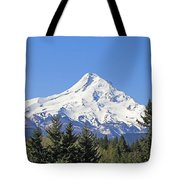 Mount Hood Mountain Oregon Tote Bag by Jennie Marie Schell