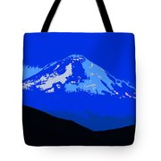 Mount Hood Panoramic Tote Bag