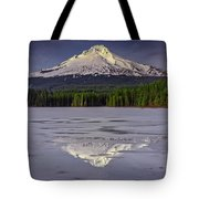 Mount Hood Reflections Tote Bag