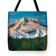Mount Hood Winter Tote Bag