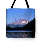 Mount Hoods Looms Over Lost Lake  Hood Tote Bag