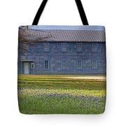Mount Horeb Masonic Lodge 137 With Bluebonnets Tote Bag
