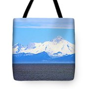 Mount Iliamna Across Cook Inlet From Ninilchik-alaska Tote Bag