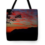 Mount Lee  Tote Bag