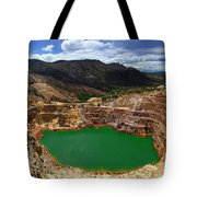 Mount Lyall Mine In Queenstown Tote Bag