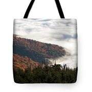 Mount Mitchell Morning Tote Bag