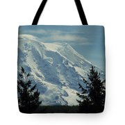 Mount Rainier From Patterson Road Tote Bag