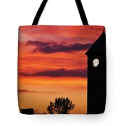 8.15 On The Mount Royal Clock Tower Baltimore Tote Bag