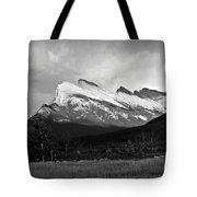 Mount Rundle At Banff National Park Tote Bag