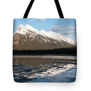 Mount Rundle Reflections Tote Bag