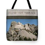 Mount Rushmore 3 Tote Bag