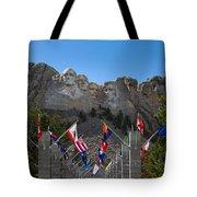 Mount Rushmore National Memorial Tote Bag
