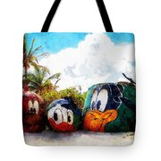 Mount Rustmore Castaway Cay Tote Bag