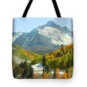 Mount Sneffels In Ridgway Colorado Tote Bag