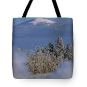 Mount Spokane Tote Bag