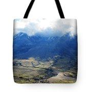 Mount St. Helen's Cloud Kissed Tote Bag
