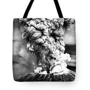 Mount St Helens Eruption Tote Bag