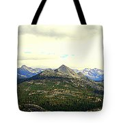 Mount Starr King Tote Bag