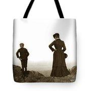 Mount Tamalpais Marin County California Circa 1902 Tote Bag