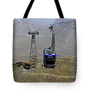 Mount Teide Cable Car Tote Bag