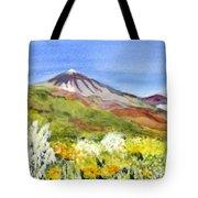 Mount Tiede In Tenerife Tote Bag