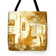 Mount Vernon In Golden Light Tote Bag