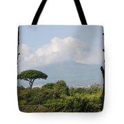 Mount Vesuvius Tote Bag