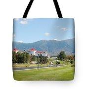 Mount Washington Hotel In New Hampshires White Mountains Tote Bag