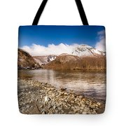 Mount Yakedake Tote Bag