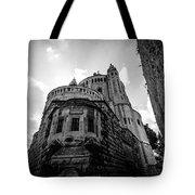 Mount Zion Abbey Tote Bag
