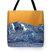 Mountain Abstract  Tote Bag