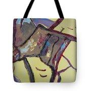 Mountain Antelope Tote Bag