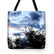 Mountain Ash Silhouette Tote Bag
