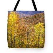 Mountain Autumn Tote Bag