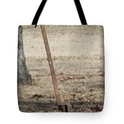 Mountain Bluebird On Well Pump Iv Tote Bag