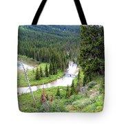 Mountain Bridge Tote Bag