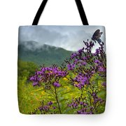 Mountain Butterfly  Tote Bag