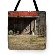Mountain Cabin In Tennessee 3 Tote Bag